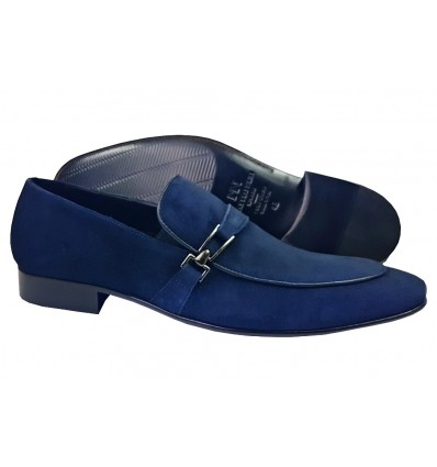Matteo N,. Velourleder Slip-On