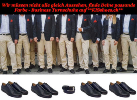 Unser exklusiv Business-Sneakers
